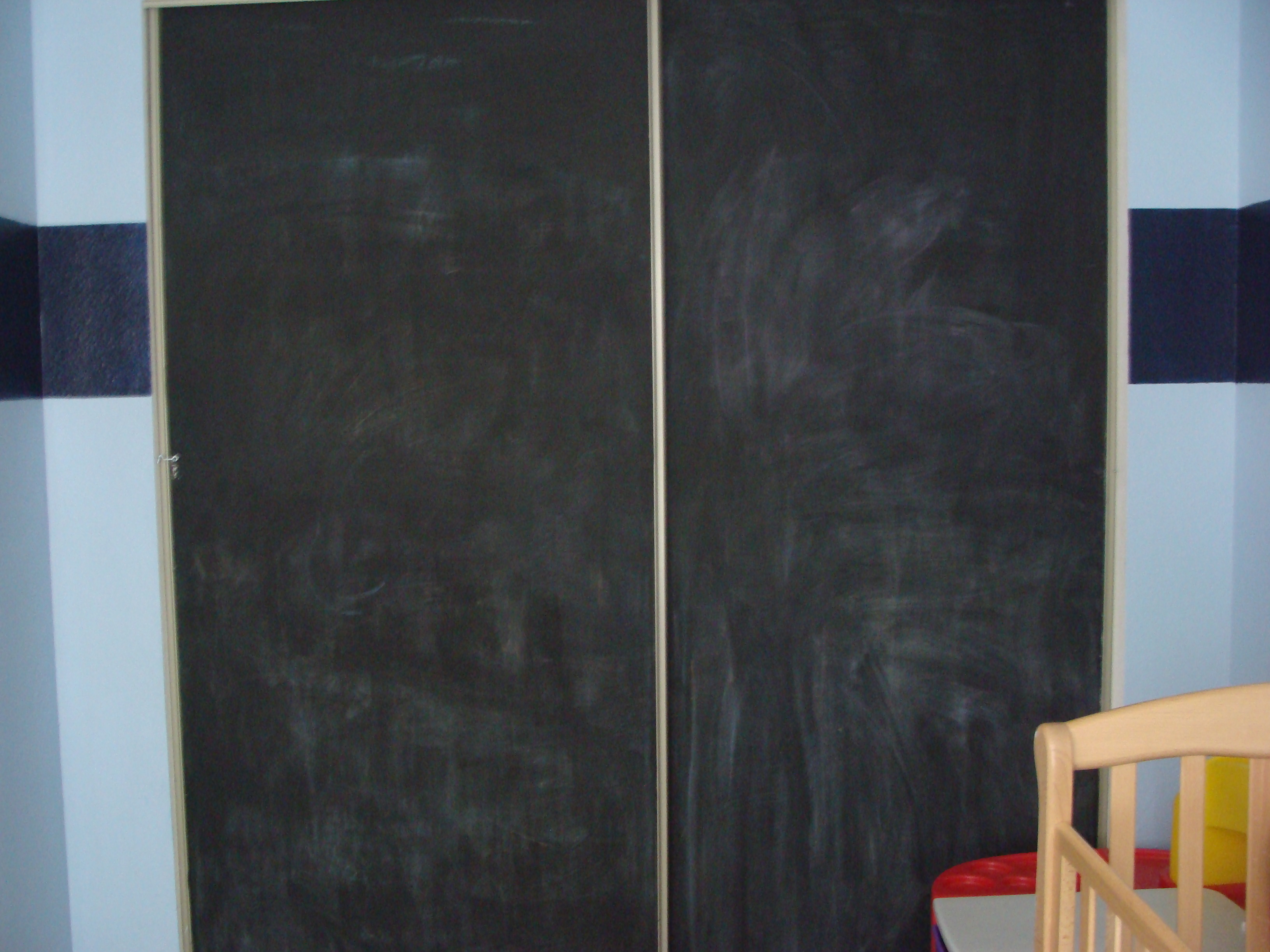 The Mom Crowd Decorating With Chalkboard Paint