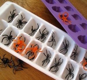 Spider Ice Cubes